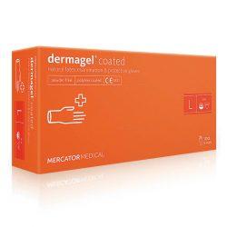 Перчатки латексные Mercator Medical Dermagel Coated - L