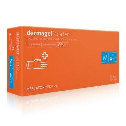 Перчатки латексные Mercator Medical Dermagel Coated - M