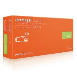 Перчатки латексные Mercator Medical Dermagel Coated - S